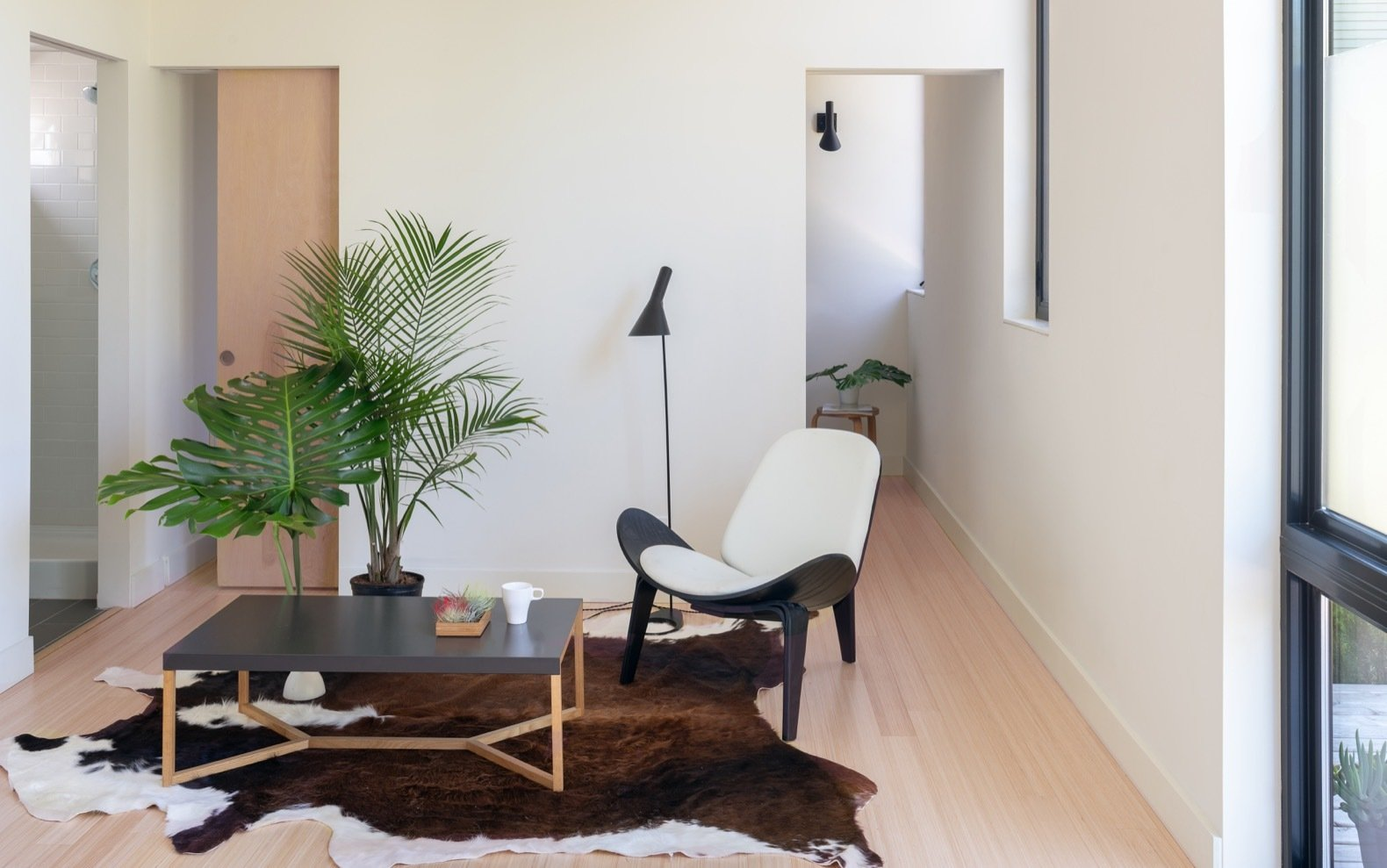 Ikea Cowhide Rug Photo 5 Of 13 In This Solar Powered Prefab In Seattle Raises The