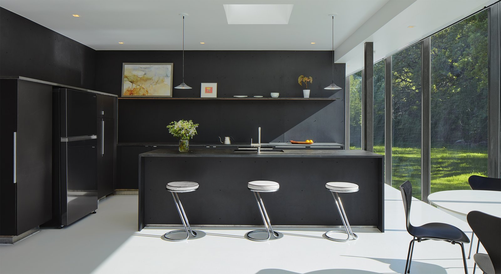 Black Design For Kitchen 5 Homes With Sleek Black Kitchens Dwell