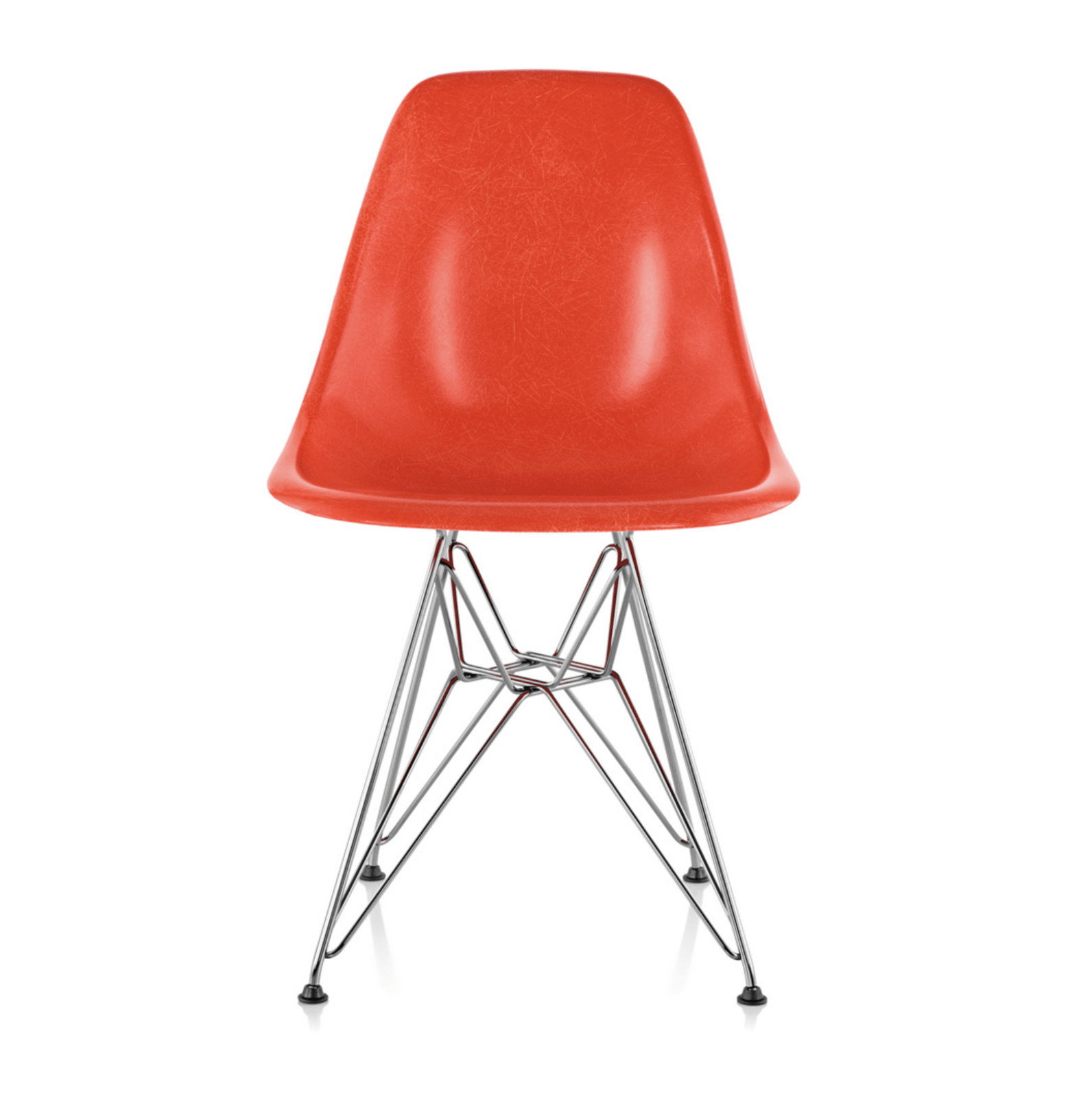 Eames Chair Base Eames Molded Fiberglass Side Chair With Wire Base By Design