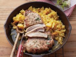 Small Of Pineapple Pork Chops