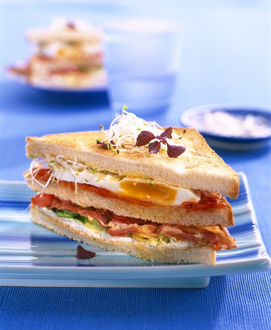 Sandwich With Egg And Bacon Recipe Eat Smarter Usa