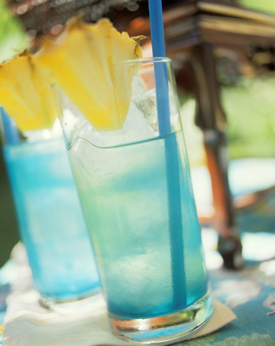 Blue Curacao Cocktail Alkoholfrei Blue Curacao Cocktail