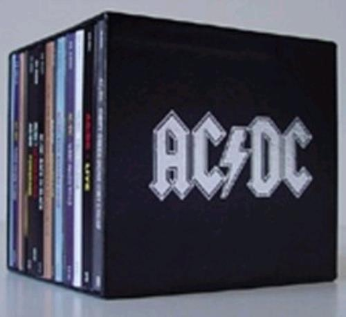 Baby Collection Silver Set Ac Dc The Collector 39;s Box Uk Vinyl Box Set 264715