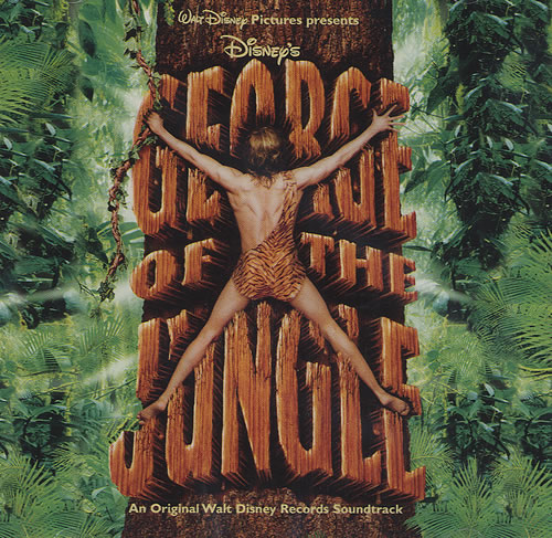Hercules 50 Walt Disney George Of The Jungle Uk Cd Album (cdlp) (437512)