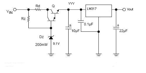 how to deal with 24vgt33v ldo circuit