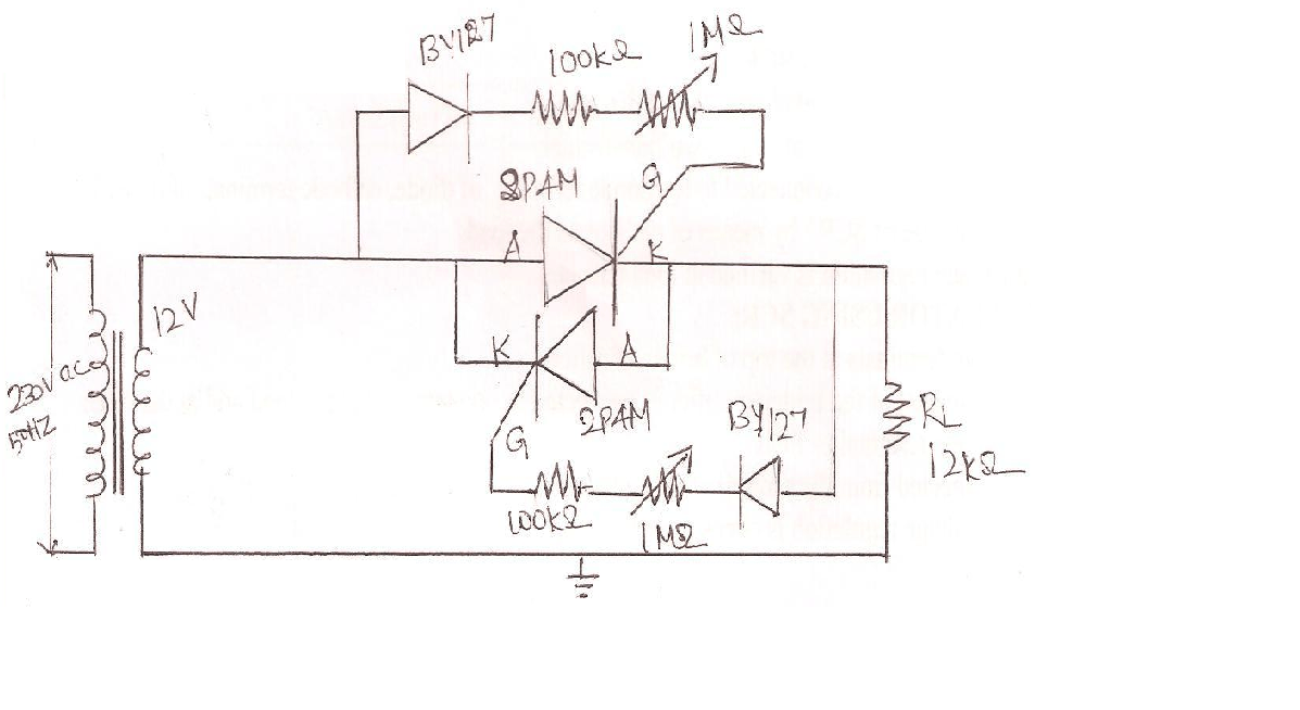 circuit diagram voltage regulator