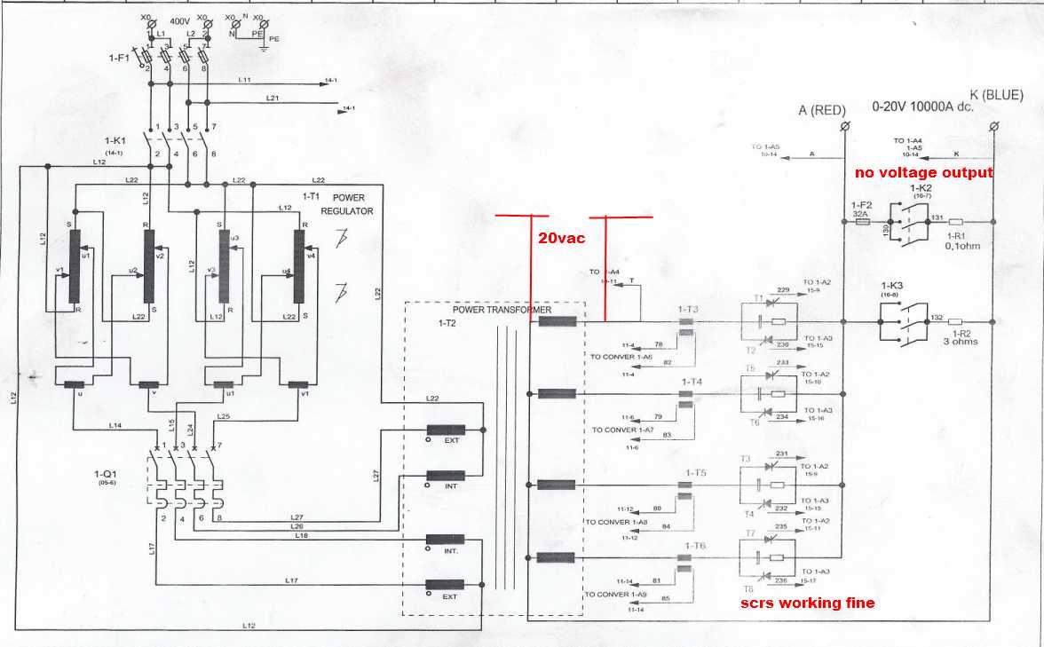 blown 20 amp fuse box