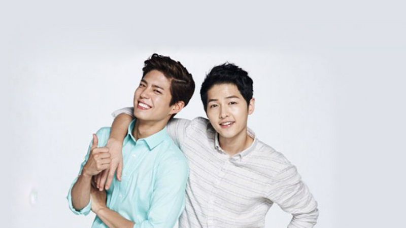 Descendants Of The Sun Hd Wallpaper Song Joong Ki Park Bo Gum To Have Gay Themed Movie Song