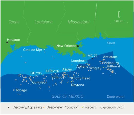Eni Gas Gom: Eni And Nexen Begin Longhorn Field Gas Production In