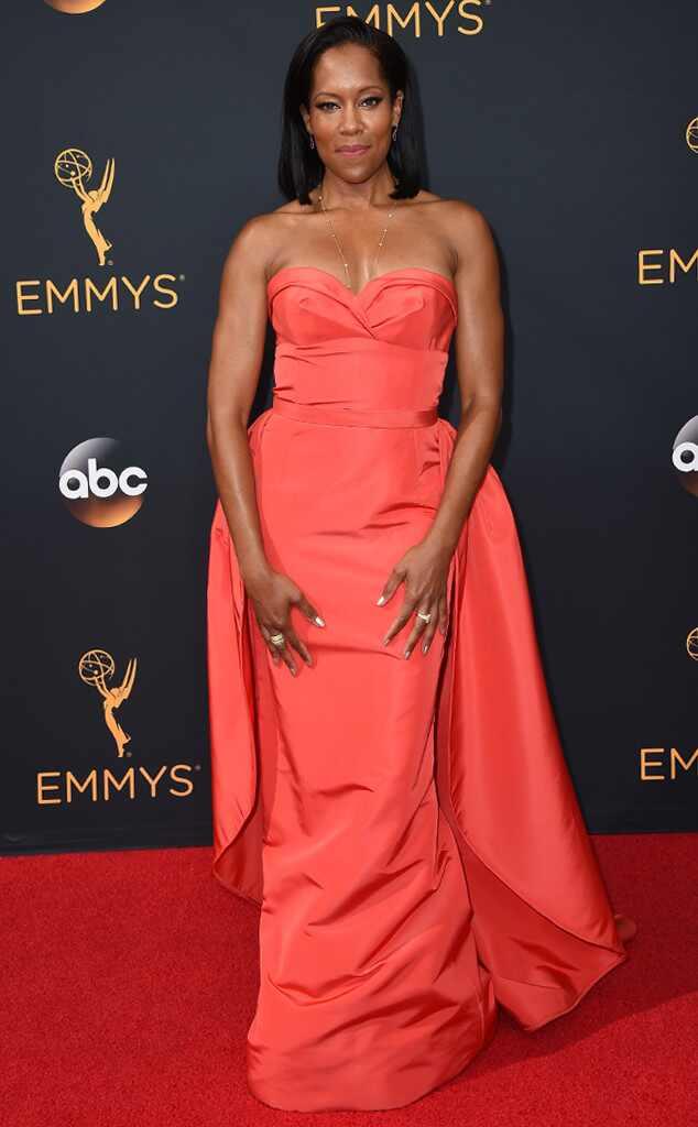 2016 Emmys Red Carpet Arrivals  Regina King, 2016 Emmy Awards, Arrivals