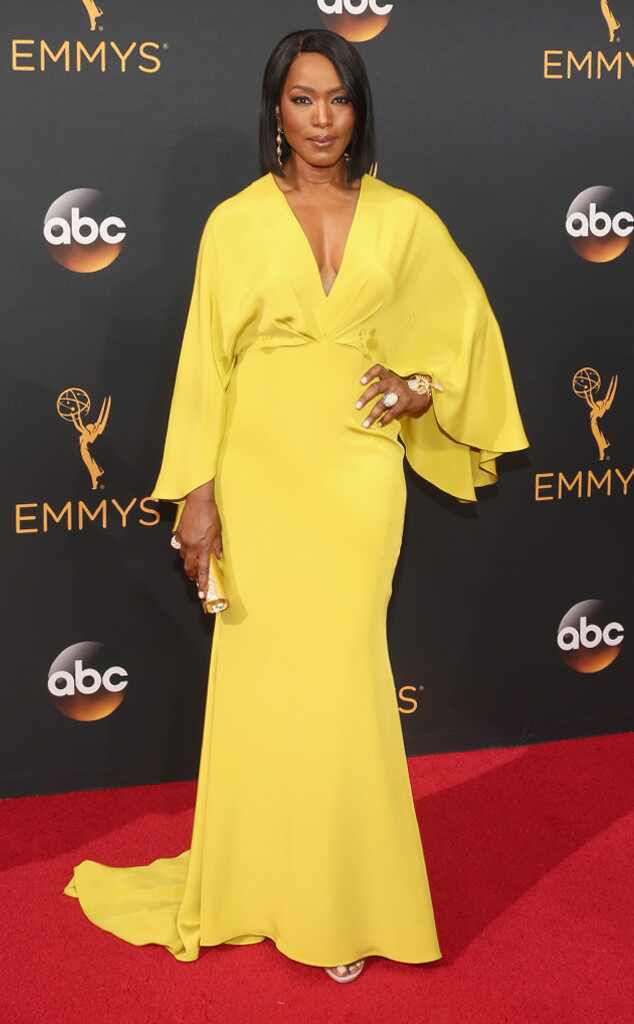 2016 Emmys Red Carpet Arrivals Angela Bassett, 2016 Emmy Awards, Arrivals