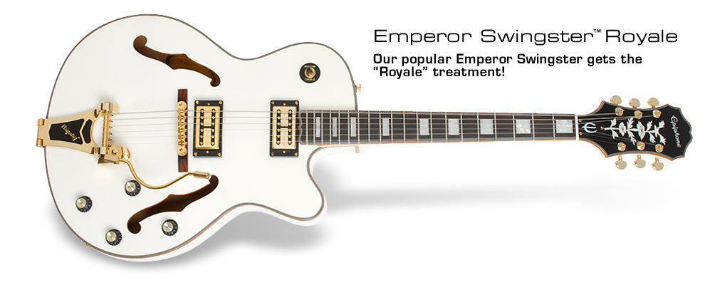 Epiphone Emperor Swingster Royale