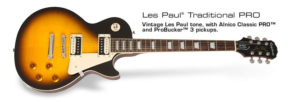 Epiphone Ltd Ed 2014 Les Paul Traditional PRO