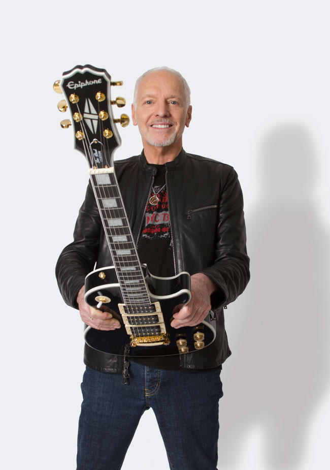 Ltd Ed Peter Frampton Les Paul Custom PRO Premium Outfit
