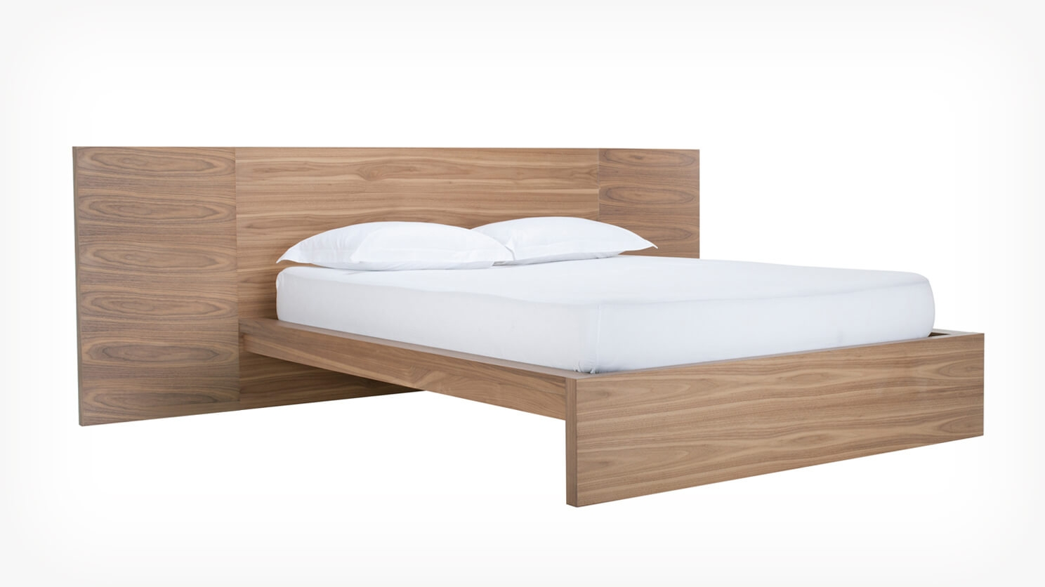 Simple Bed Simple Bed W Extended Panel Headboard Eq3