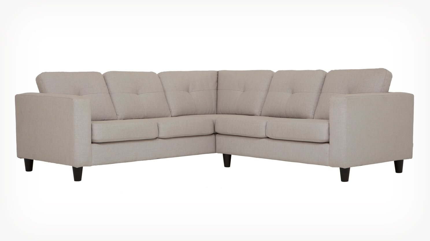 Fabric Sectional Sofas Canada Solo 2 Piece Sectional Sofa Fabric Eq3