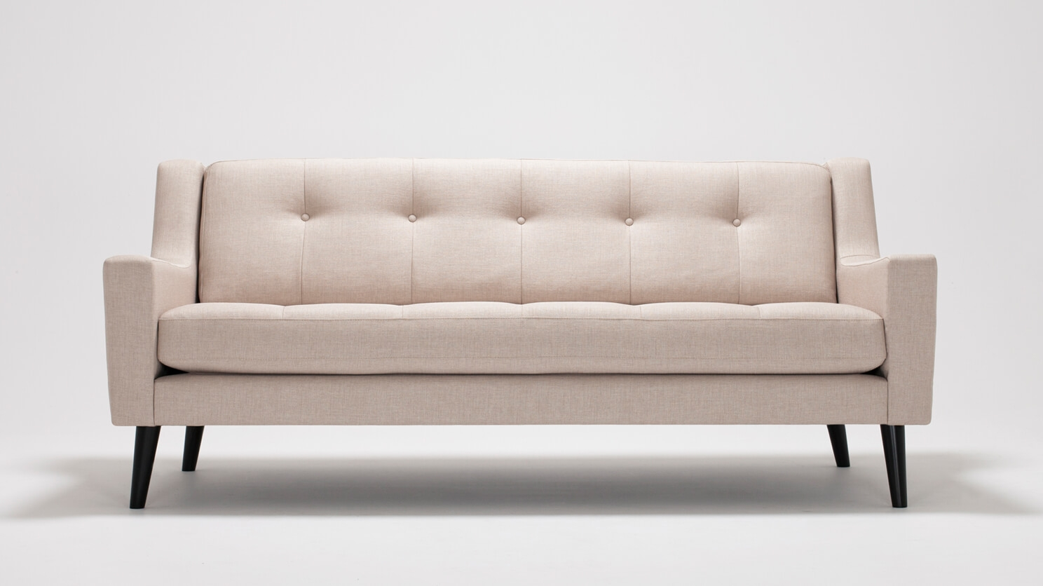 Eckcouch Taupe Elise Sofa Fabric Eq3