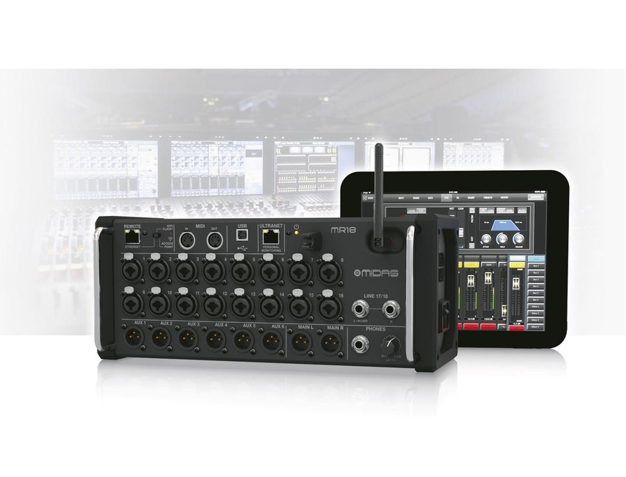 Midas Mr18 Tablet Controlled Digital Mixer Reviews