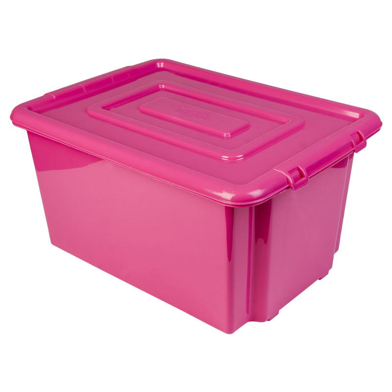 Pink Plastic Storage Containers Listitdallas