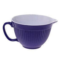 NEW ZEAL KITCHEN PURPLE MELAMINE MIXING BOWL JUG WITH ...