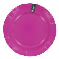 Hot Pink Melamine Dinner Plate   Unique Home Living