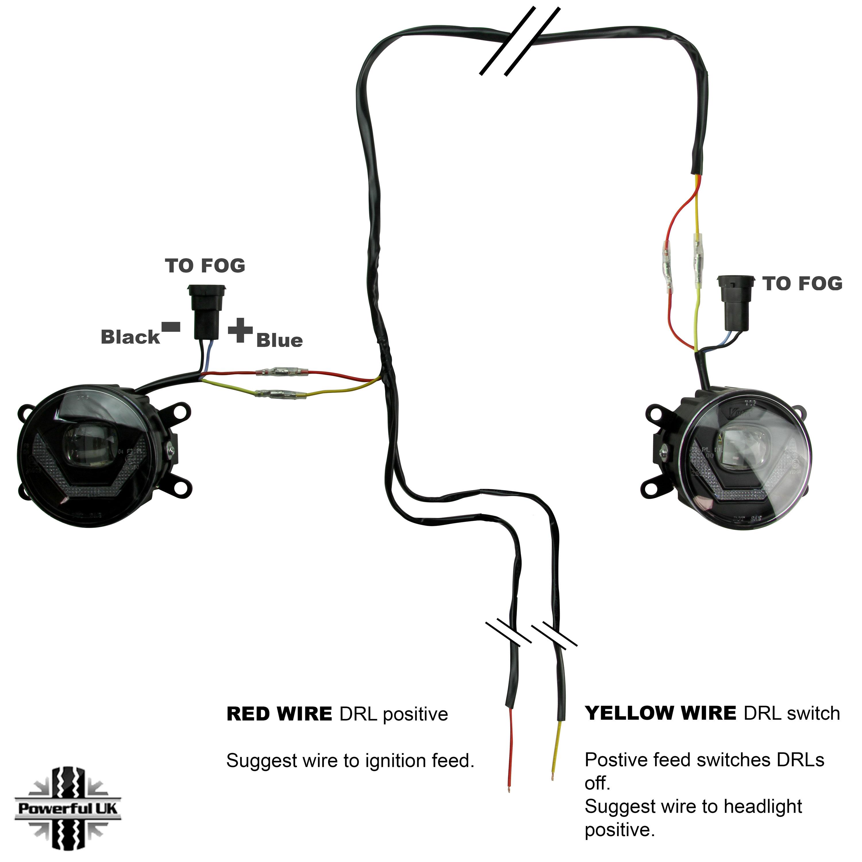 universal fog light wiring kit