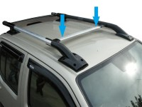 Roof Cross Bar for Nissan Navara D40 Front Rail Aventura ...