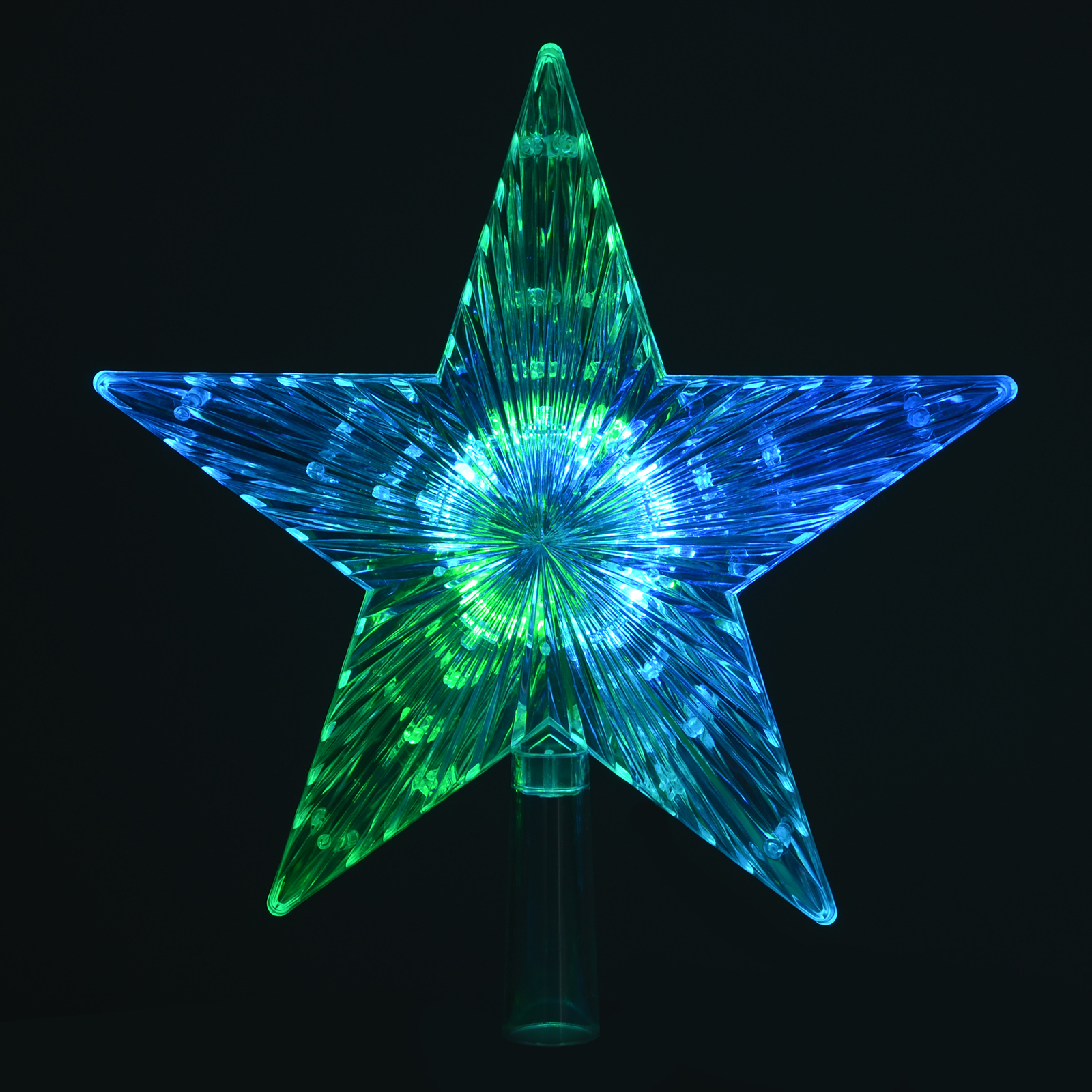 Christmas Star Lights Colour Changing Led Light Up Star Christmas Tree Topper