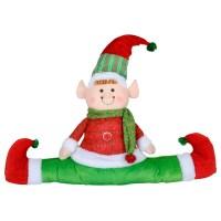 Elf Christmas Decoration - Draught Draft Excluder Door ...