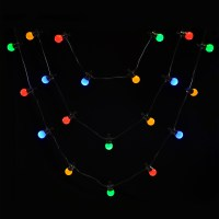 20 Connectable LED Christmas Party Outdoor String Lights ...