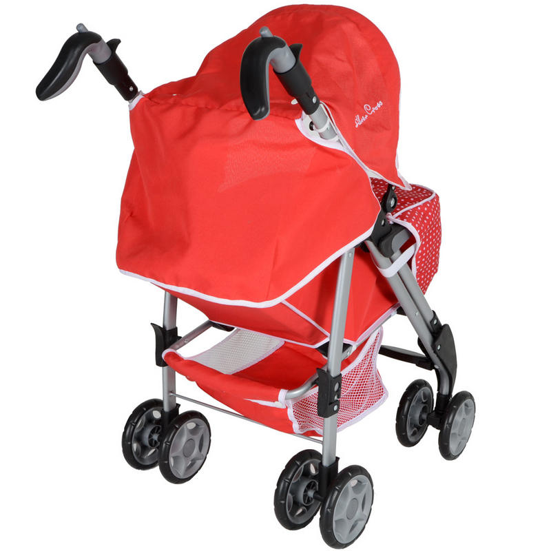 Silver Cross Buggy Toy Silver Cross 3d Push Chair Poppy Red Toy Kids Girls Baby