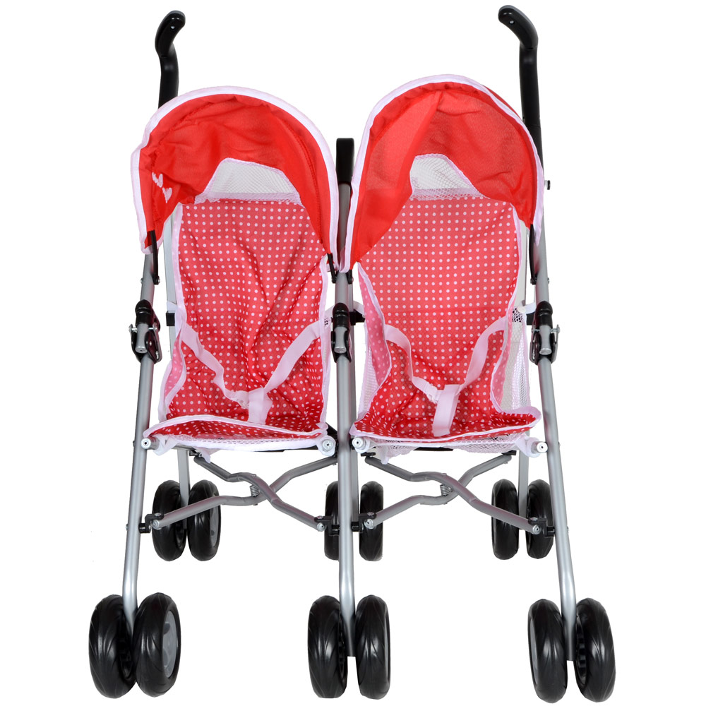 Duo Umbrella Stroller Silver Cross Pop Duo Twin Poppy Toy Dolls Pram Stroller Ebay