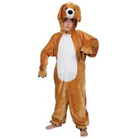 Kids Animal Puppy Dog Fancy Dress Up Halloween Costume