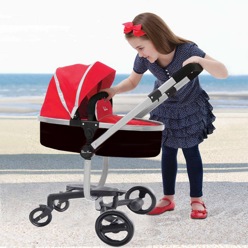 Silver Cross Surf Pushchair Ebay Silver Cross Surf Red Toy Doll 39;s Rear Or Front Facing