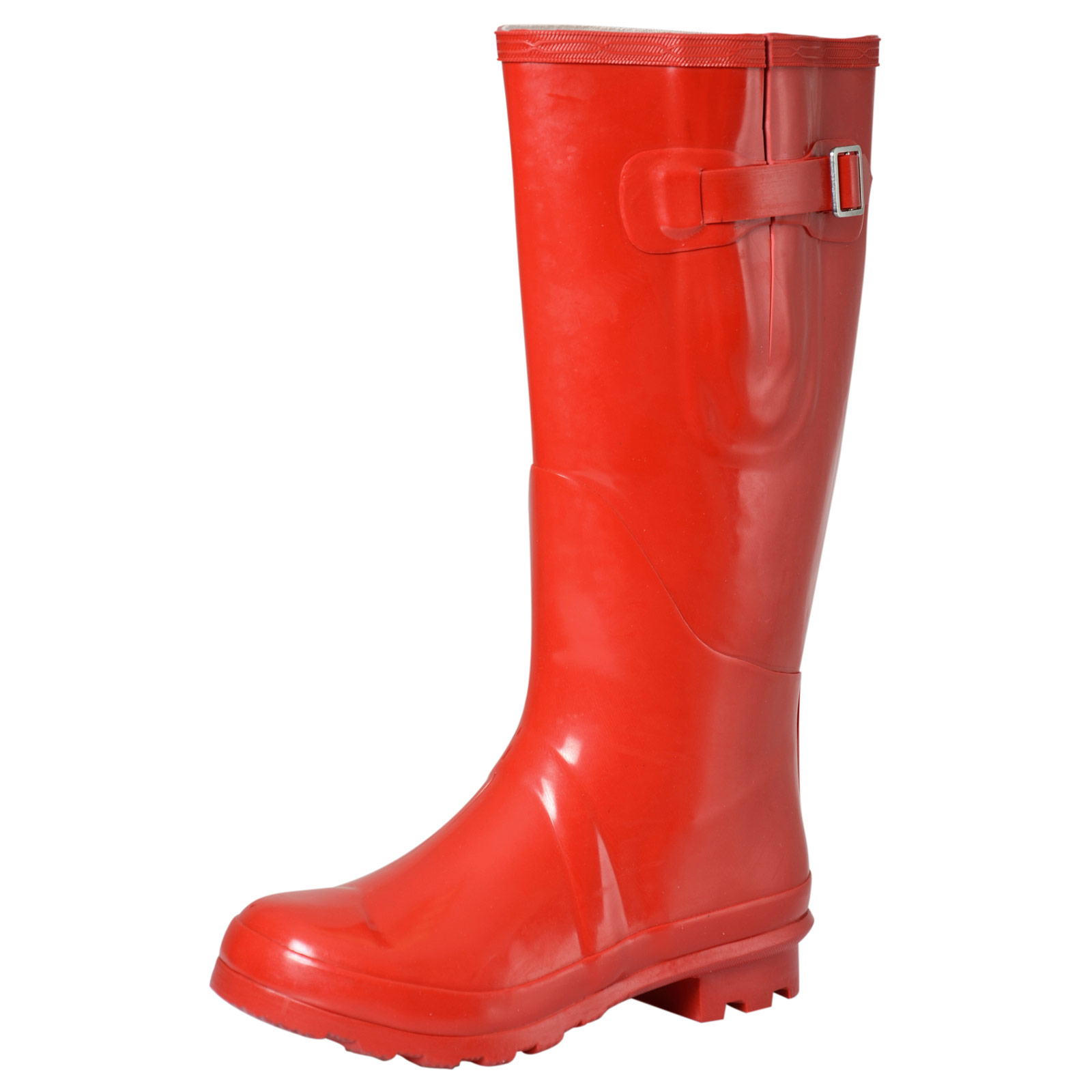 Ladies Girls Coloured Gloss Wellington Boots Fashion