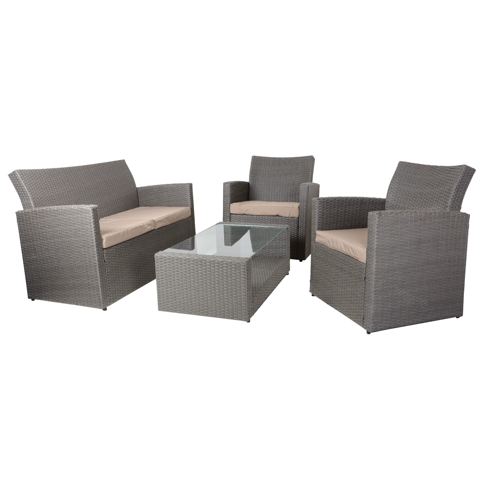 Rattan Sofa Set Ebay 4pc Tuscany Rattan Wicker Sofa Set Garden Conservatory