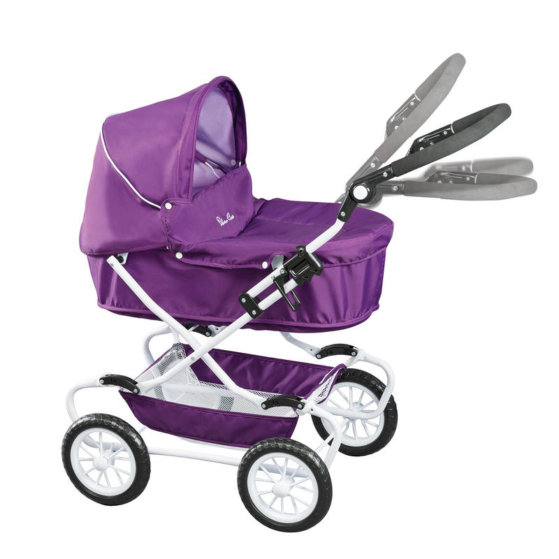 Britax Double Pushchair Reviews Silver Cross Classic Dolls Pram Damson Purple Girls Toy