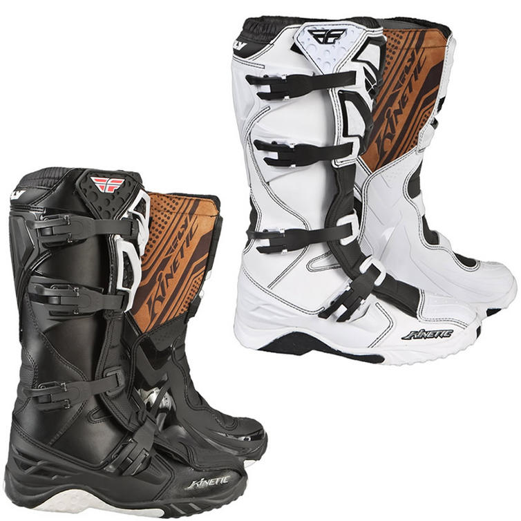 Fly Racing 2011 Kinetic Motocross Boots Boots