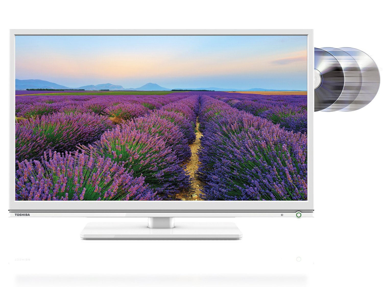 24 Im Tv Toshiba 24d1534db 24 Inch Hd Ready Led Tv Dvd Combi Built