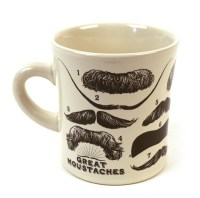 Great Mustaches Mug | Pink Cat Shop