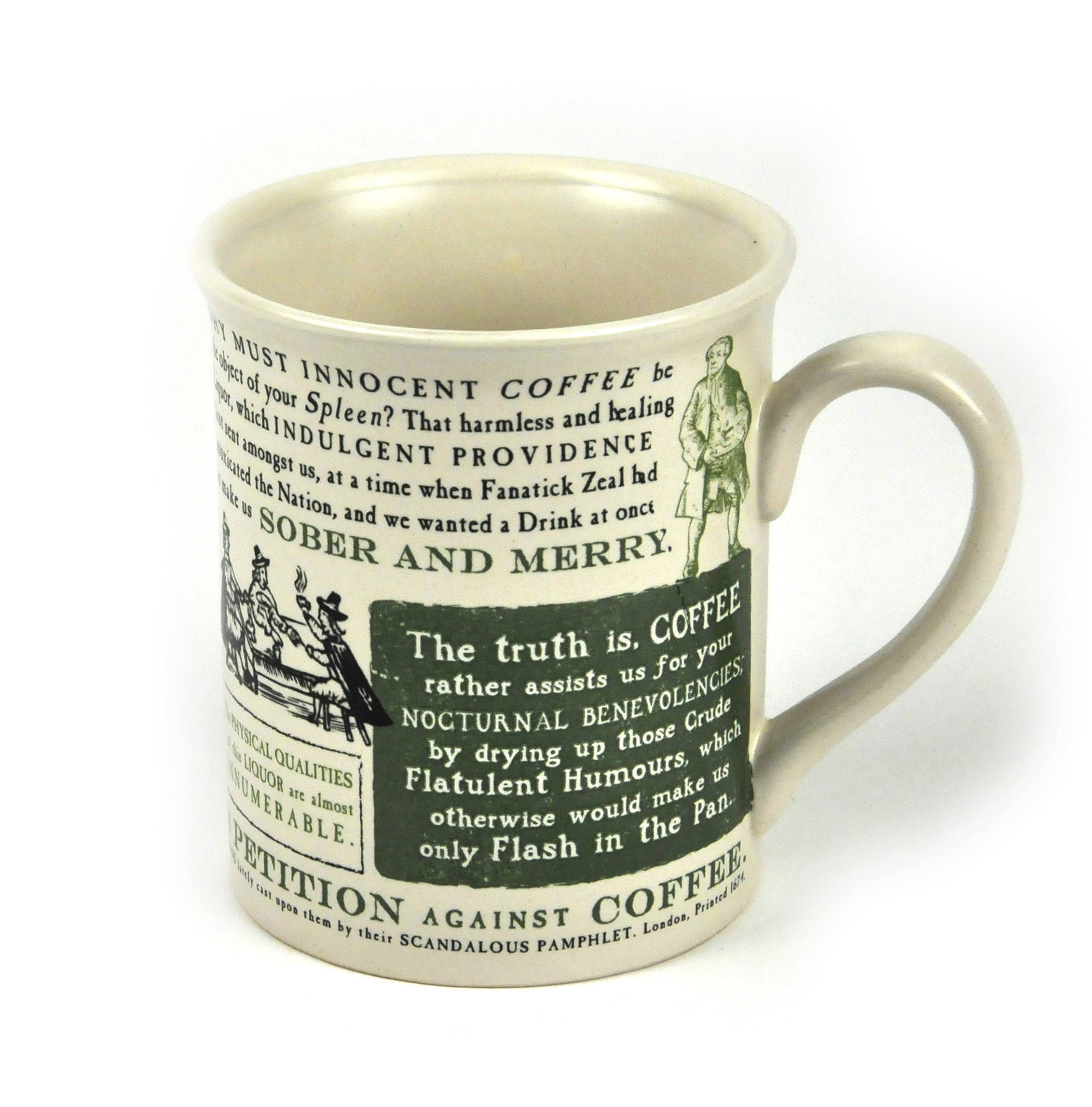 Men Coffee Cups The 1674 Quotin Defense Of Coffee Quot Mug Men 39s Pro Coffee Mug