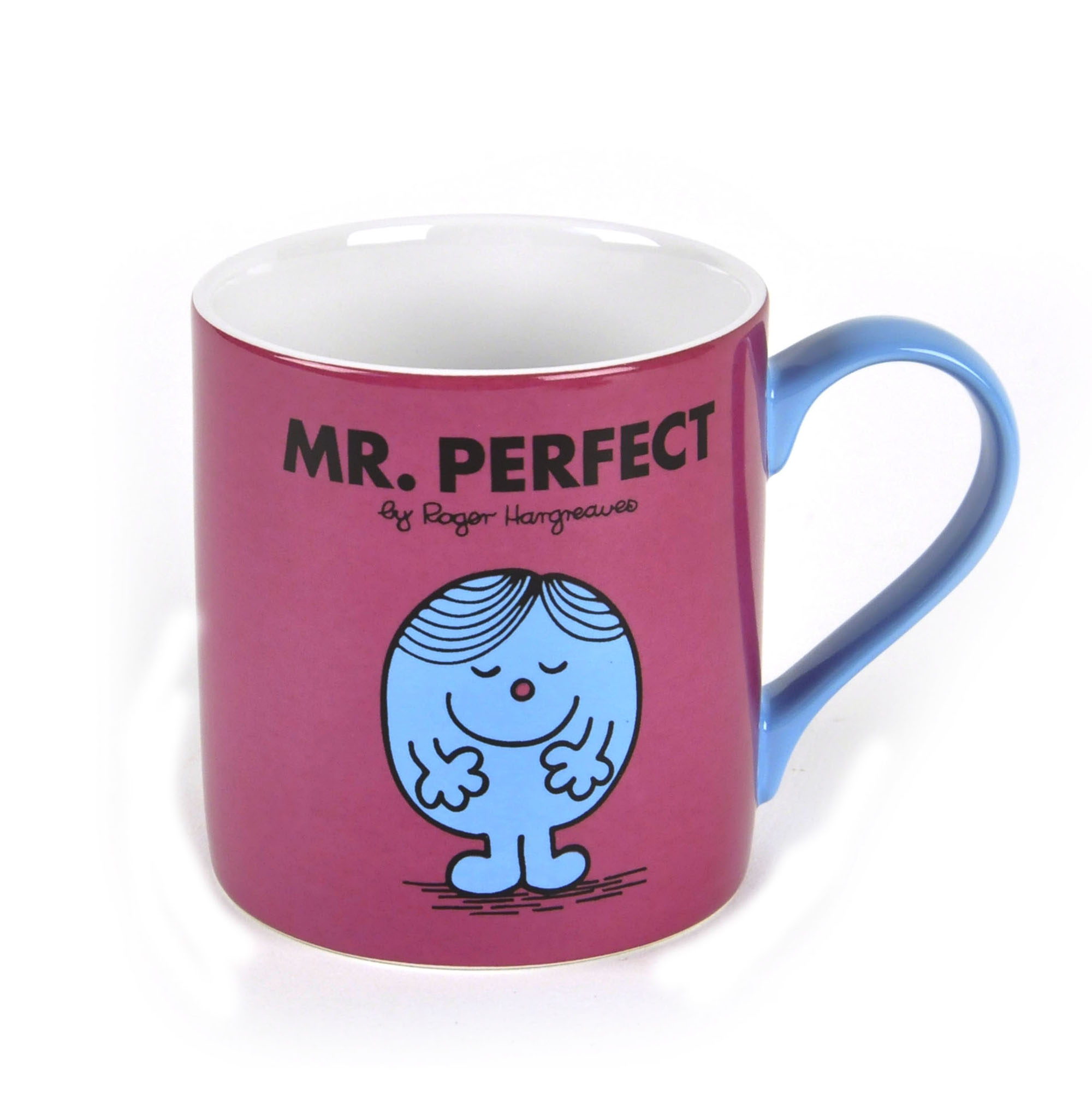 Men Coffee Cups Mr Perfect Full Colour Mr Men And Little Miss Mug Pink