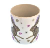 Rabbit - Wildwood Mug - Magpie Mug by Sarah Young | Pink ...