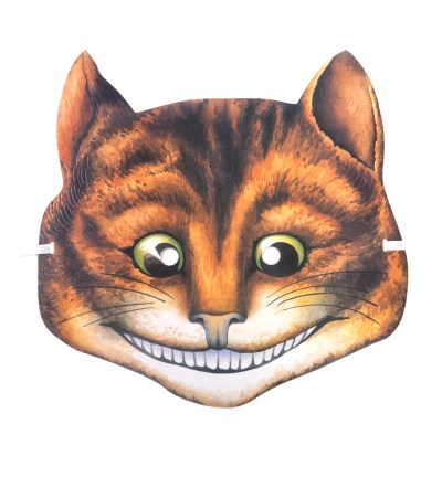 Cheshire Cat - Classic Alice in Wonderland Party Mask | Pink Cat Shop