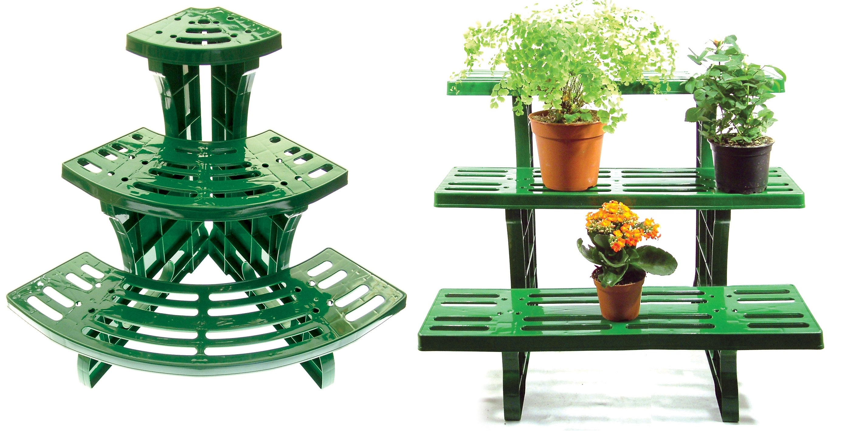 Herb Garden Plant Stands 3 Tier Etagere Plant Stand Pot Garden Display Straight Or