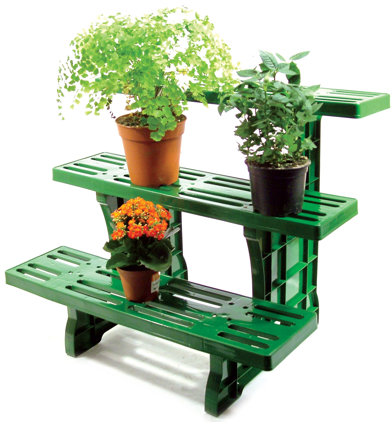 Corner Table For Plants Etagere Potted Plant Pot Stand 3 Tier Garden Display