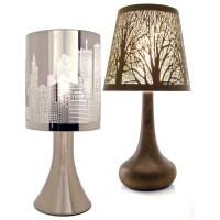Chrome Touch Lamp Dimmer Bedside Table Light New York City ...