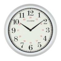 NEW Large 35cm Home Kitchen Plastic Wall Clocks Red Black