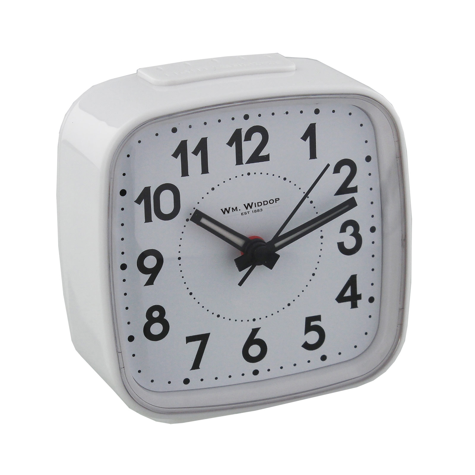 Small Bedside Table Clocks Non Ticking Alarm Clock Silent Sweep No Tick Loud Beep Led