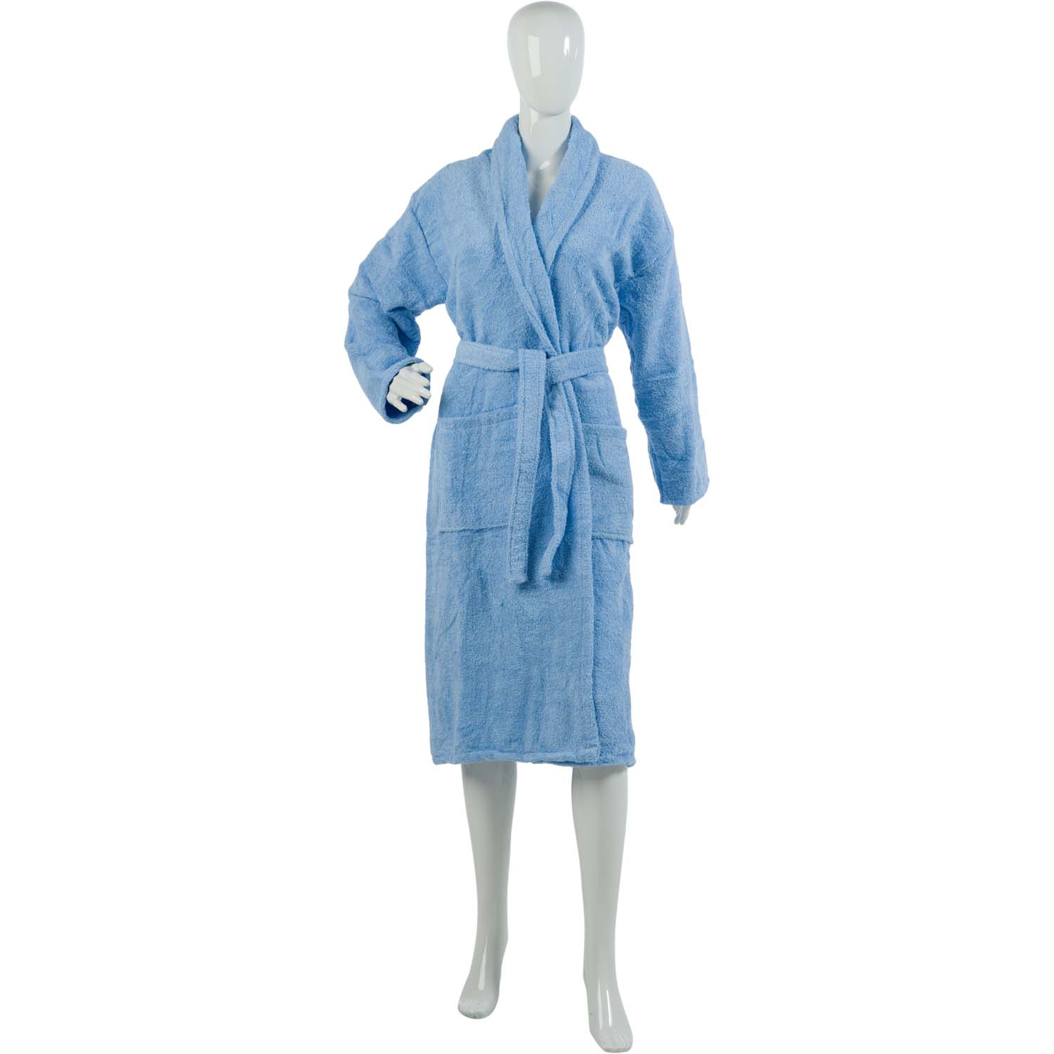 Cotton On Dressing Gown Ladies Plain Towelling Dressing Gown Womens 100 Cotton